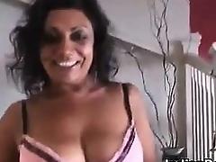 Dilettante Older Indian Does A Striptease