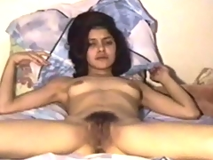 Her pussy is hairy