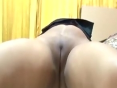Banging my Indian wife's smoothly hairless impure cleft on camera