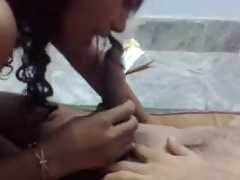 Indian blowjob and screwing