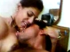 Hot indian Aunty',s deep Animals , revealing her Nude Body with BF