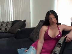 Rain Receives her pussy filled