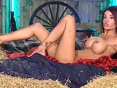 Priya in the RLC Barn